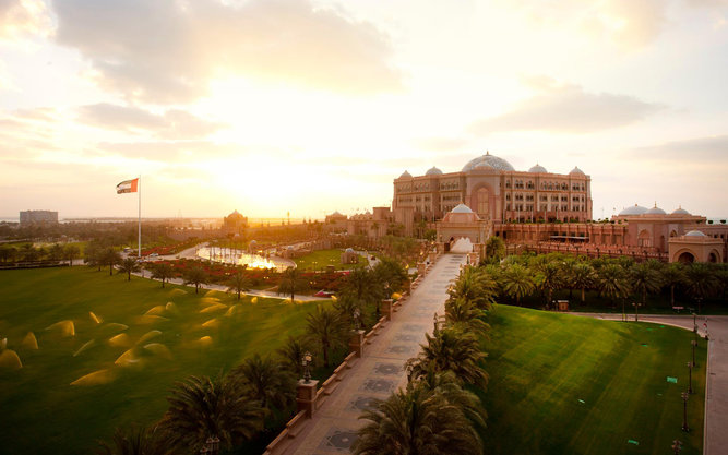 Emirates Palace Hotel in Dubai