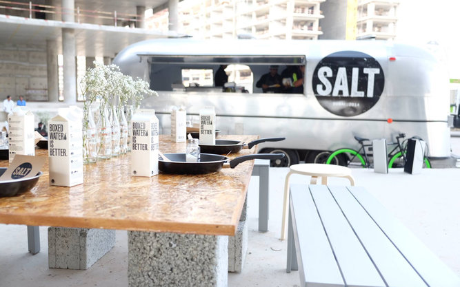 SALT Foodtruck Restaurant in Dubai