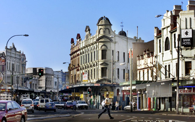 King Street Newtown in Sydney