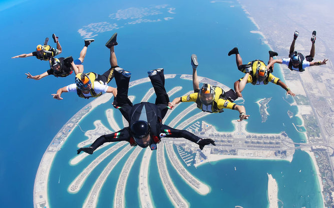 Skydive Dubai Adventure