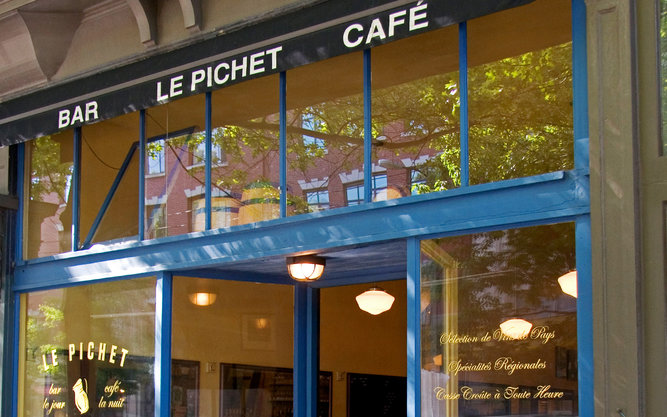 Le Pichet Restaurant in Seattle