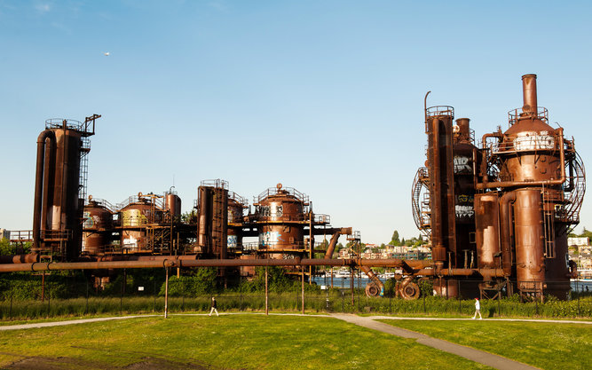 Gas Works Park in Seattle