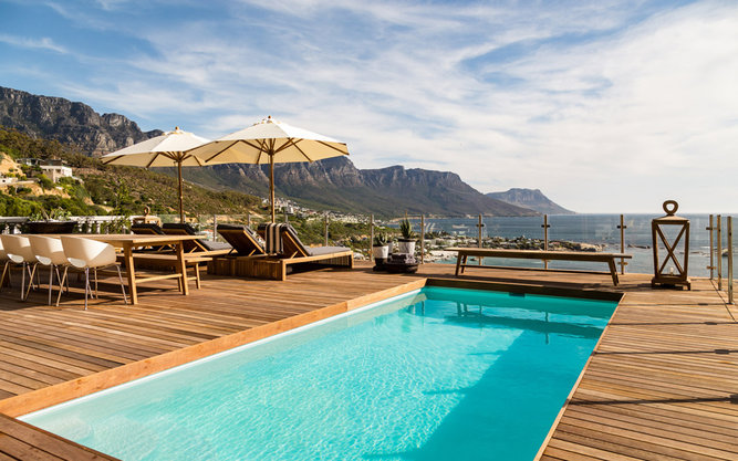 Cape View Clifton Hotel in Capetown