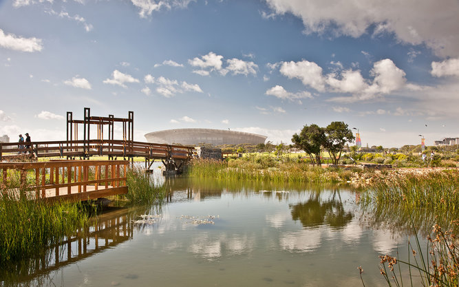 Greenpoint Park in Cape Town