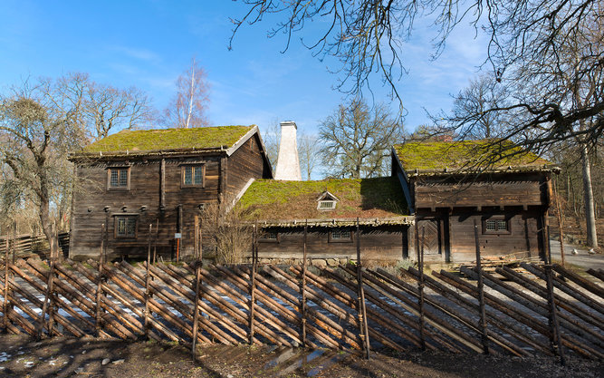 Skansen Open Air Museum in Stockholm