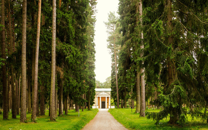 Woodland Cemetery in Stockholm