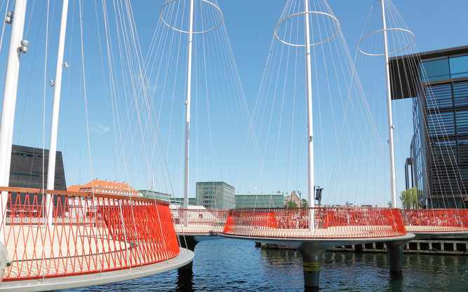 The Circle Bridge in Copenhagen