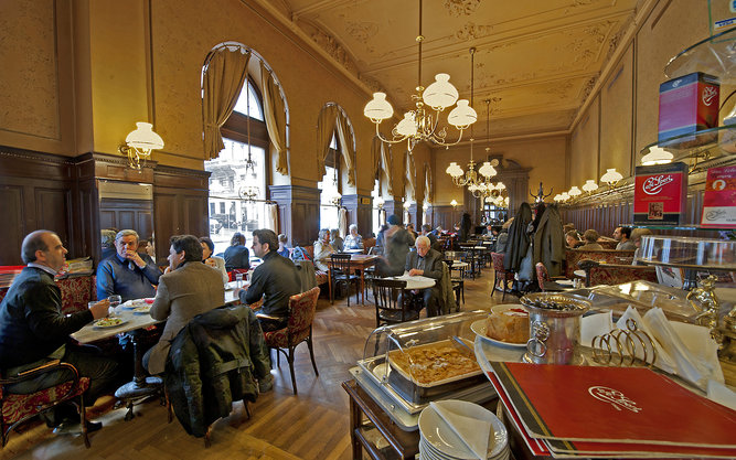 Café Sperl Restaurant in Vienna