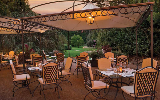 Il Palagio Restaurant in Four Seasons in Florence