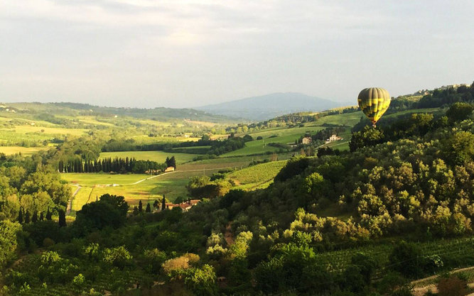 Tuscany Ballooning in Florence