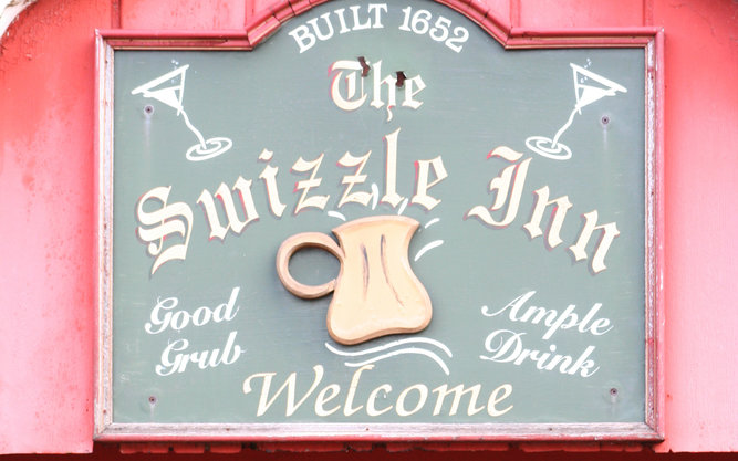 The Swizzle Inn Restaurant in Bermuda