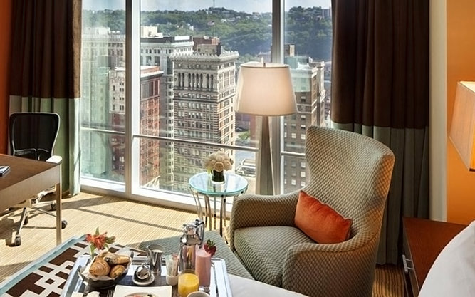 Fairmont Hotel in Pittsburgh