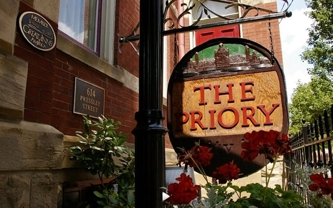 The Priory Hotel in Pittsburgh