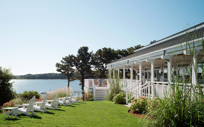 Wequassett Resort and Golf Club Hotel in Cape Cod