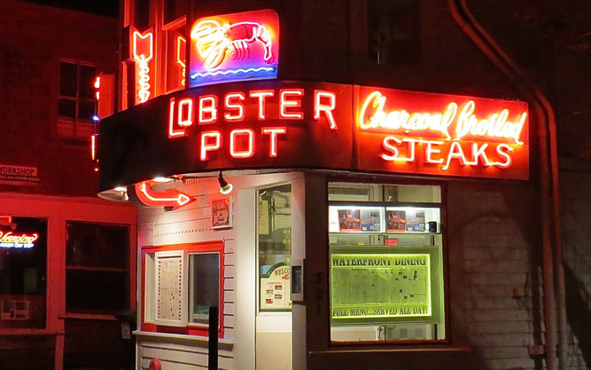 Lobster Pot Restaurant in Cape Cod