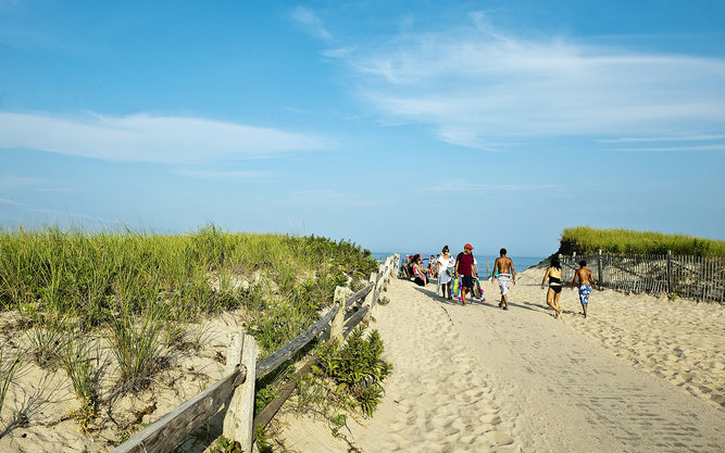 Nauset Beach in Cape Cod