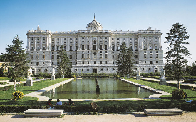 Palacio Real Royal Palace of Madrid