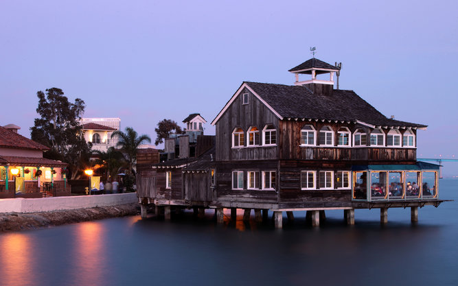 Seaport Village in San Diego