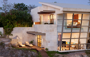 guest house at Rosewood Mayakoba, Playa del Carmen