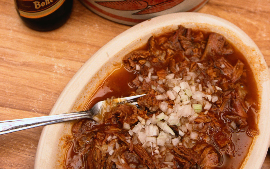 Birria, a goat meat dish traditional to Jalisco - Jalisco