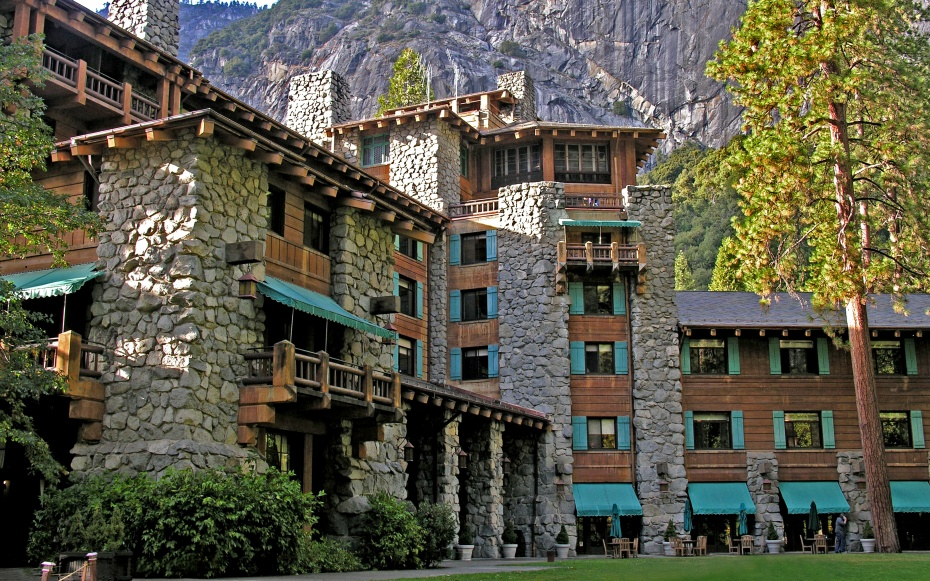 Great national park lodges travel leisure for Design hotel yosemite