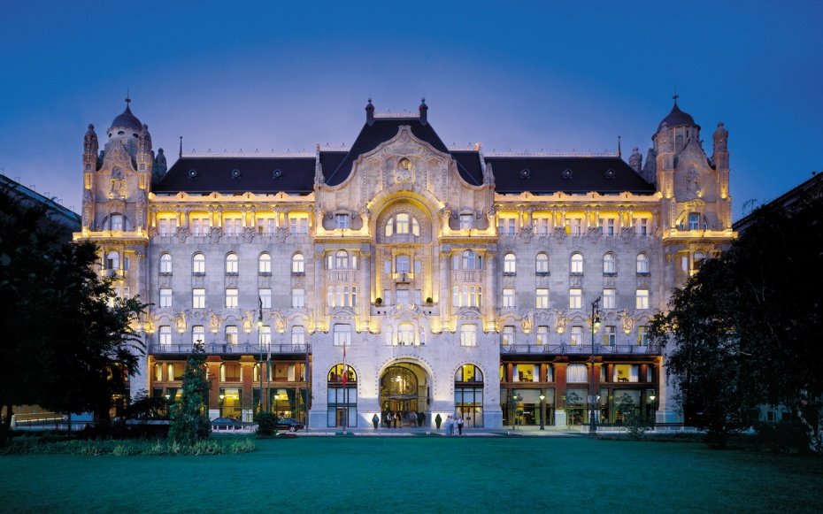 No 3 four seasons hotel gresham palace budapest world 39 s for Worlds best hotels