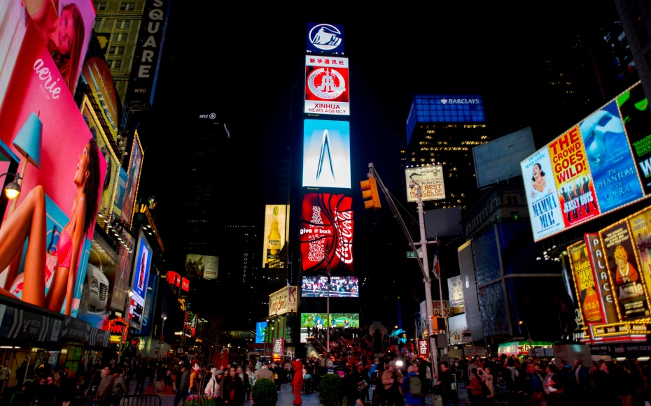 No 3 times square new york city world s most visited for Top attractions in nyc