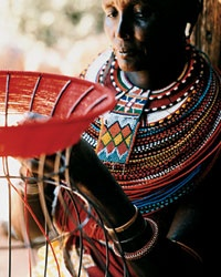 Handicraft Traditions in India and Kenya