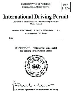 how to get a permit for unregistered car