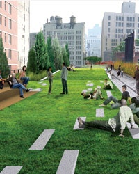Parks: The High Line Arrives in Manhattan