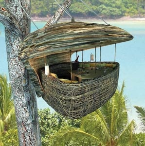 Treetop Dining in Thailand