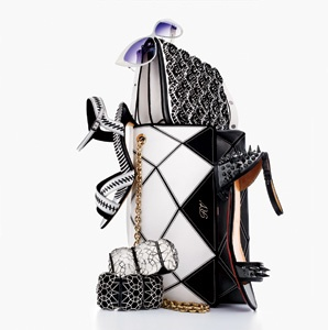 Style: Black and White Accessories