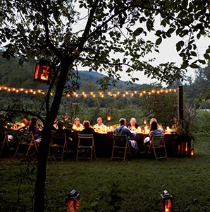 Outdoor Dining at Blackberry Farm
