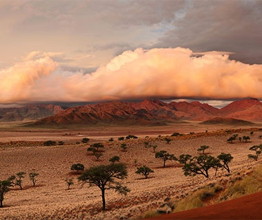 gorgeous valley in Namibia
