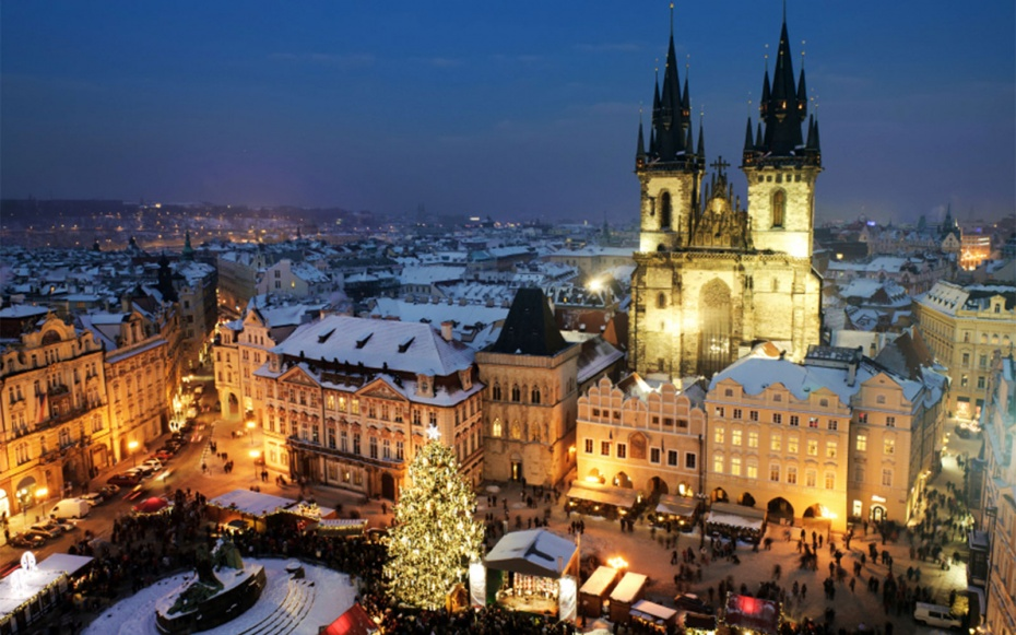 Christmas vacations in Prague, Czech Republic
