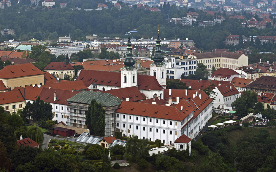 Strahov monastery prague world 39 s most unusual hotels for Quirky hotels in prague