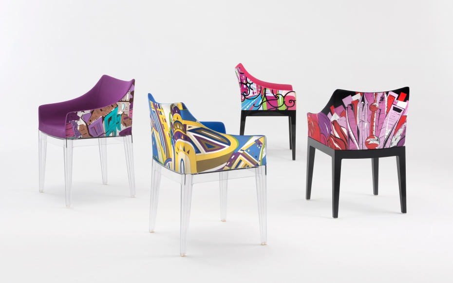 Come See the Travel-Inspired Chair by Philippe Starck and Emilio Pucci