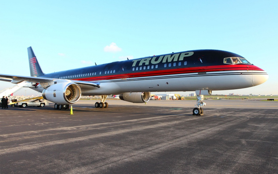 The Private Jets Our Presidential Candidates Fly—and What They Cost