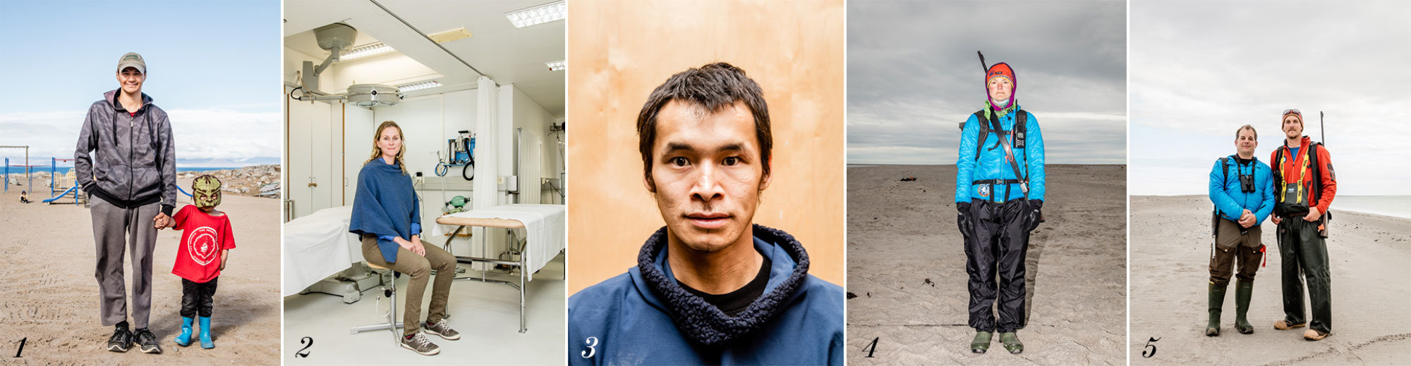 Portraits from the Northwest Passage