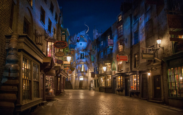 Harry Potter Diagon Alley Universal Studios