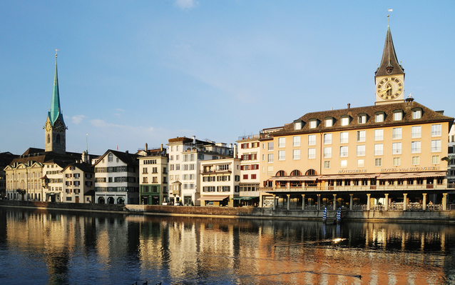 Old Town in Zurich