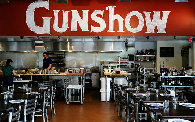 Gunshow Restaurant in Atlanta