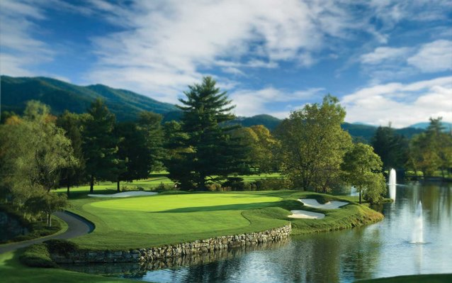 greenbrier gold course