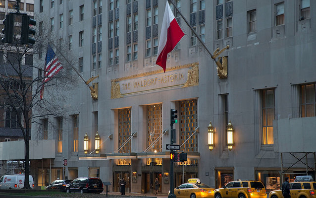 Waldorf AStoris NYC closing for three years