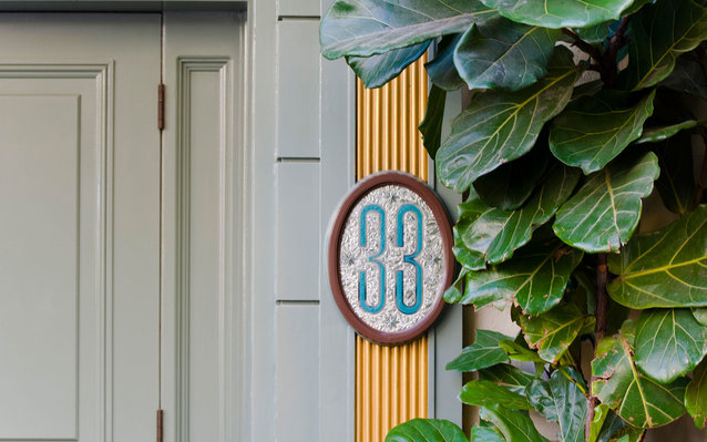 C492DG Club 33 at Disneyland, California, USA