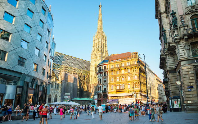 Vienna, The Stephansplatz