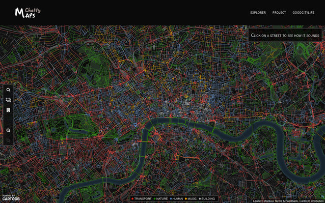 London Sound Map