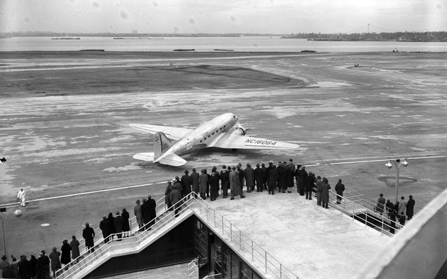 Opening of LaGuardia Airport New York 1939