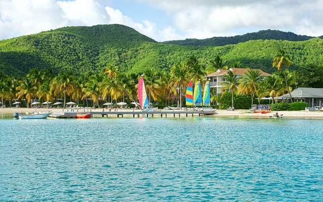 The Jetty, Carlisle bay Hotel, Antigua