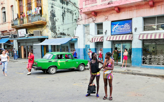 Celebrity Tourists Cuba